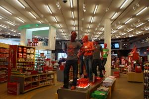 foto da loja de souvenirs